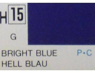 Gunze GU0015 BRIGHT BLUE GLOSS ml 10 Pz.6 Modellino