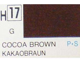 Gunze GU0017 COCOA BROWN GLOSS ml 10 Pz.6 Modellino