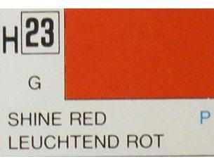 Gunze GU0023 SHINE RED GLOSS ml 10 Pz.6 Modellino
