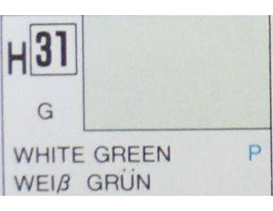 Gunze GU0031 WHITE GREEN GLOSS ml 10 Pz.6 Modellino