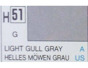 Gunze GU0051 LIGHT GULL GREY GLOSS ml 10 Pz.6 Modellino