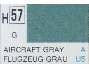 Gunze GU0057 AIRCRAFT GRAY GLOSS  ml 10 Pz.6 Modellino