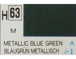 Gunze GU0063 BLUE GREEN METALLIC  ml 10 Pz.6 Modellino