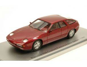 Kess Model KS43024010 PORSCHE 928 CUSTOM FACTORY 4 DOOR SEDAN 1986 METALLIC RED LIM.400 1:43 Modellino
