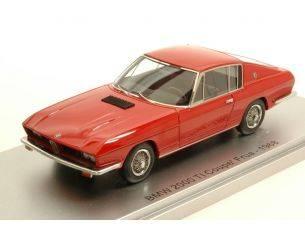 Kess Model KS43035000 BMW 2000 TI COUPE' FRUA 1968 RED LIM.400 1:43 Modellino