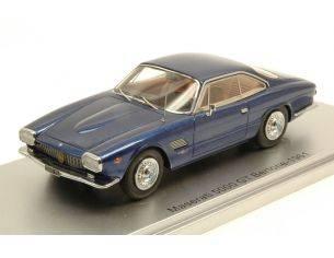 Kess Model KS43014071 MASERATI 5000 GT BERTONE 1961 METALLIC BLUE LIM.250 1:43 Modellino