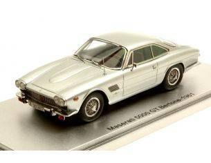 Kess Model KS43014070 MASERATI 5000 GT BERTONE 1961 SILVER LIM.250 1:43 Modellino