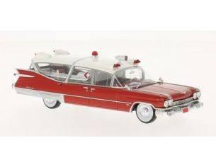 Neo Scale Models NEO45260 CADILLAC S&S SUPERIOR LANDAU AMBULANCE 1959 1:43 Modellino