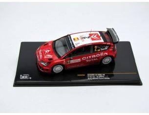 Ixo model RAM298 CITROEN C4 WRC RALLY M.CARLO 2008 1:43 Modellino
