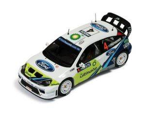 Ixo model RAM204 FORD FOCUS WRC N*4 RALLY DI FINLANDIA 2005 1/43 Modellino