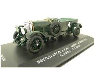 Ixo model LM1930 BENTLEY SPEED SIX 4 W.BARNATO-G.KIDSTON WINNER LE MANS 1930  LM19301:43 Modellino