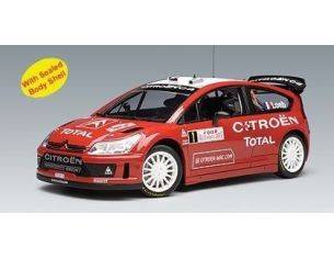 Auto Art / Gateway 80838 CITROEN C4 WRC 2008 MC WINNER 1/18 Modellino