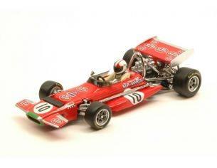 Quartzo QZ27861 MARCH 701 CHRIS AMON 1970 N.10 2nd BELGIAN GP 1:43 Modellino