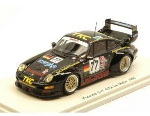 Spark Model S4447 PORSCHE 911 GT2 N.77 18th LM 1996 T.SUZUKI-G.KUSTER-M.JURASZ 1:43 Modellino