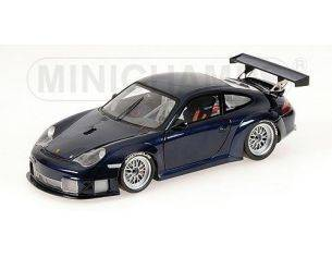 Minichamps PM100046404 PORSCHE 911 GT 3 2004 BLUE 1:18 Modellino