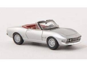 Neo Scale Models NEO87483 FIAT DINO SPIDER 2000 SILVER 1:87 Modellino