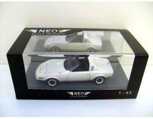 Neo 43082 OPEL GT AERO WHITE 2-TONE 1/43 Modellino