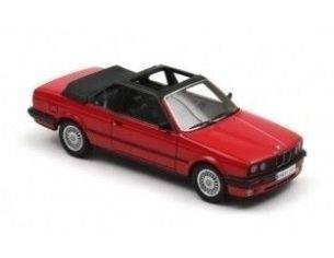 Neo 43293 BMW 325I E30 BAUR CABRIO RED 1/43 Modellino