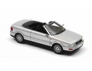 Neo 43371 AUDI CABRIO SILVER 1/43 Modellino