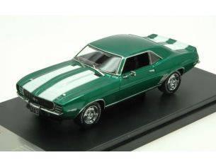 Protar PRXD549 CHEVROLET CAMARO RS 1969 GREEN MET./WHITE 1:43 Modellino