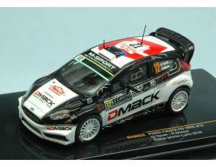 Ixo model RAM625 FORD FIESTA RS WRC N.12 7th MONTE CARLO 2016 O.TANAK-R.MOLDER 1:43 Modellino
