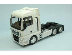 Welly WE2651W MAN TGX 26 440 (6x4) WHITE 1:32 Modellino