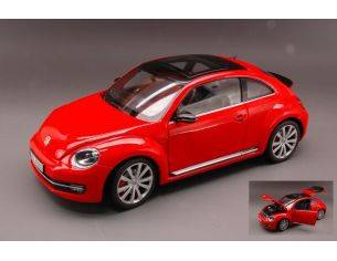 Welly WE4647 VW NEW BEETLE 2012 RED 1:18 Modellino