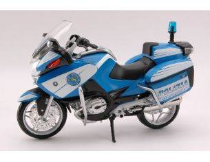 New Ray NY43173 BMW R 1200 RT POLIZIA 1:12 Modellino