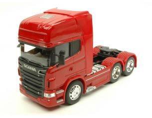 Welly WE2670R SCANIA R730 V8 (6x4) RED 1:32 Modellino