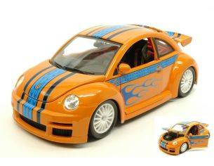Bburago BU12058OR VW NEW BEETLE CUP ORANGE 1:18 Modellino
