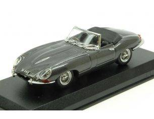 Best Model BT9648 JAGUAR E TYPE SPYDER 1961 SILVERGUN 1:43 Modellino