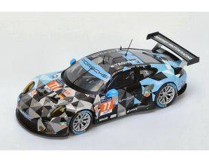Spark Model S18196 PORSCHE 911 RSR N.77 2nd LMGTE AM 2015 P.DEMPSEY-P.LONG-M.SEEFRIED 1:18 Modellino