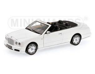 Minichamps PM100139502 BENTLEY AZURE 2006 WHITE 1:18 Modellino
