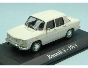 Modellino EDI012 RENAULT 8 1964 WHITE 1:43 Modellino