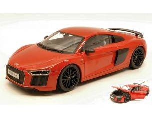 Maisto MI38135R AUDI R8 V10 PLUS 2015 RED EXCLUSIVE SERIES 1:18 Modellino