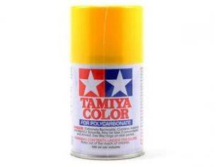 Tamiya Bomboletta Spray PS42 TRANSLUCENT YELLOW Color Per Policarbonato