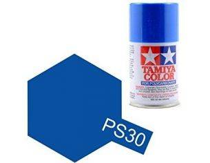 Tamiya Bomboletta Spray PS30 BRILLIANT BLUE Color Per Policarbonato