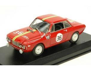 Best Model BT9650 LANCIA FULVIA 1300 HF N.36 WINNER SANREMO 1966 CELLA-LOMBARDINI 1:43 Modellino