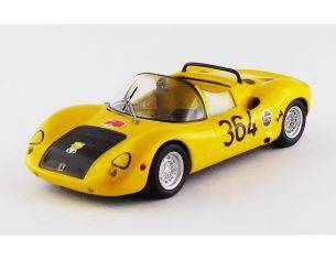Best Model BT9643 ABARTH 1000 SP N.364 ROVERETO-ASIAGO 1971 M.BALDO 1:43 Modellino