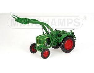 MINICHAMPS 109144071 TRATTORE AGRICOLO DEUTZ F2L 514 FRONTLOADER Modellino
