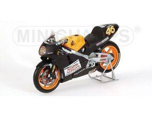 Minichamps PM122006186 HONDA V.ROSSI 2000 TEST BIKE 1:12 Modellino