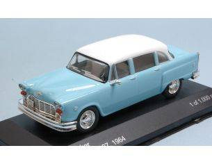 White Box WB202 CHECKER MARATHON 327 1964 LIGHT BLUE W/WHITE ROOF 1:43 Modellino