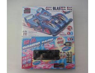 WINNER 10419 GUN BLASTER X10 MACCHININA MACCHINA MINI 4WD RACER KIT 1:32