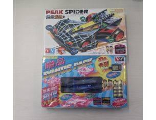 WINNER 10422 PEAK SPIDER ZEBRA MACCHININA MINI 4WD RACER KIT 1:32 SCATOLA ROVINATA