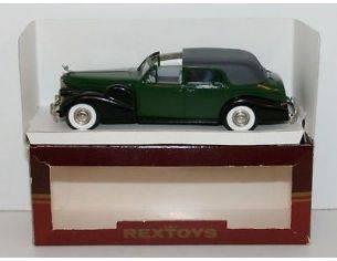 Rextoys Cadillac V 16 1938-1940 Coupè de Ville Ouvert 1:43  Scatola Rovinata
