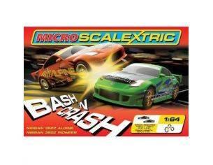 Scalextric G1049 Pista Elettrica Micro Bash'n Crash 1/64 RADIOCOMANDO