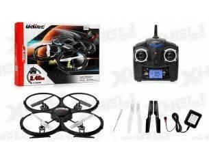 UDIRC U818A QUADRICOTTERO DRONE CON TELECAMERA HD CON LUCI NAVIGAZIONE