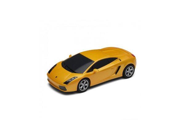 Scalextric C2810 Lamborghini Gallardo Yellow RADIOCOMANDO Modellino DEMAGED