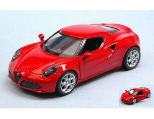 New Ray NY51193AR ALFA ROMEO 4C RED 1:32 Modellino