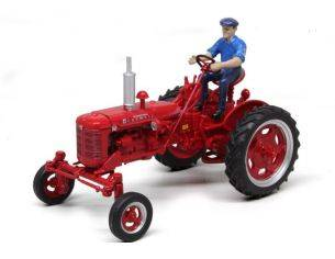 Replicagri REPLI174 TRATTORE IH FARMALL SUPER FC WITH DRIVER 1:32 Modellino